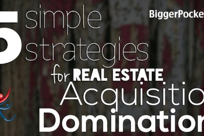 5个简单的房地产收购控制策略